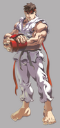 Street Fighter - Ryu Wall Poster
