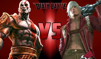 Kratos VS Dante