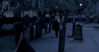 Godric's Hollow cemetery 02