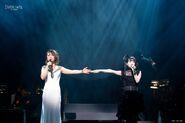 Musical 2017 Concert Megumi Hamada (Rem) and Fuka Yuzuki (Misa) 2