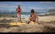 Paul and Joanna at the beach