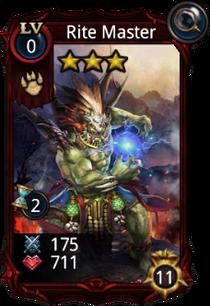 Rite Master creature card