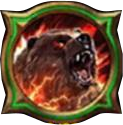 Summon grizzly skill