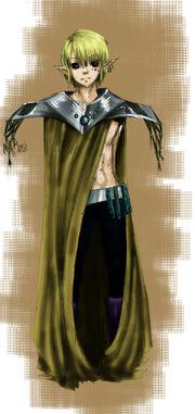 Male Elf by Mauree