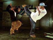 Joe Budden (martial artist) vs Sticky Fingaz (street fighter)