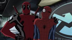 Deadpool with Spider-Man I