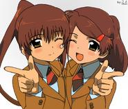 Riko and ako1