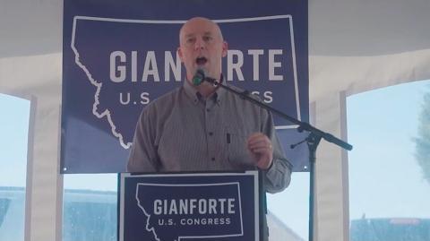 Republican candidate Greg Gianforte 'body slams' Guardian reporter in Montana – video
