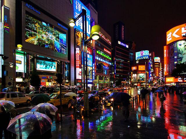 File:Shinjuku at night tokyo japan.jpg