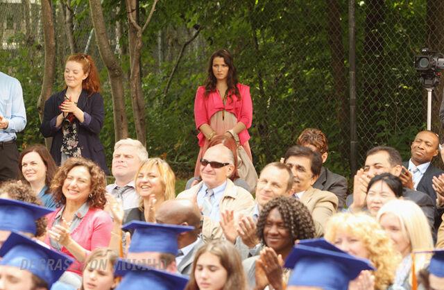 File:Fiona looks on at graduation.jpg
