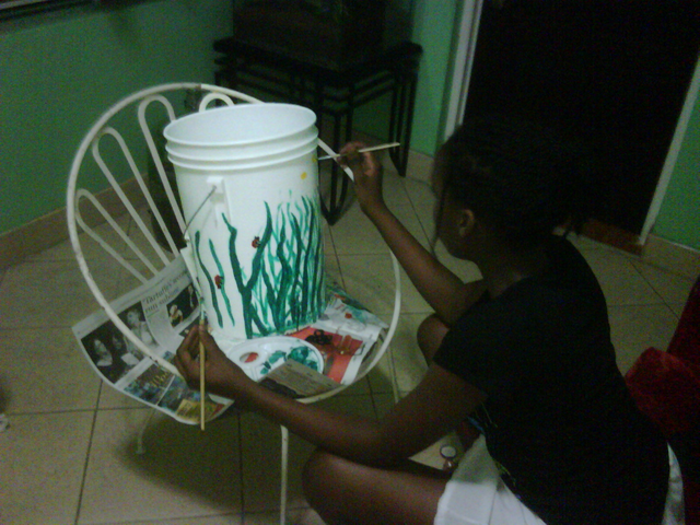 File:Christina helping me to decorate a bucket.png