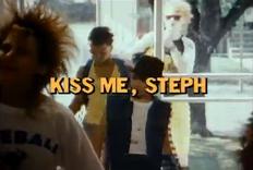 Kiss Me, Steph - Title Card