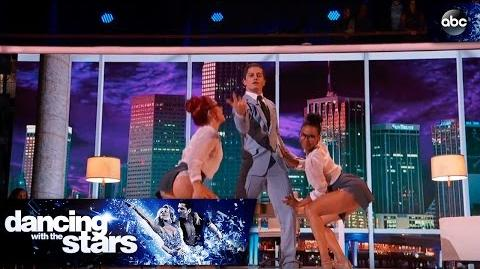 Bonner, Sharna and Britt's Jazz Trio Dance - Dancing with the Stars