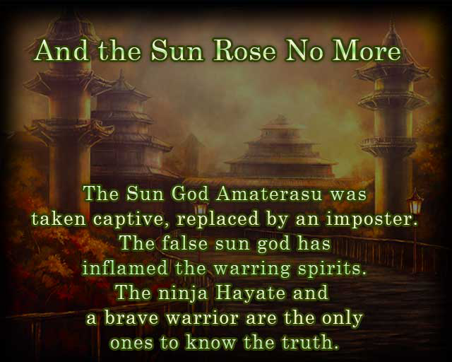 And the Sun Rose No More