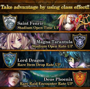 Magica Magius MA&SS About Class Effect