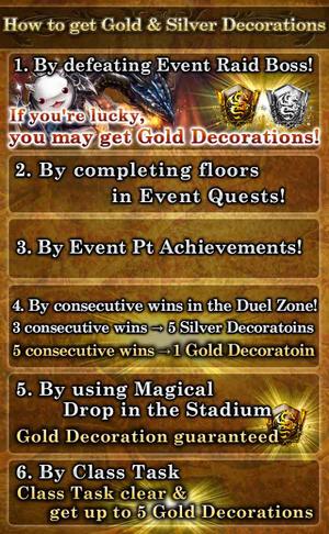 Magica Magius MA&SS How to obtain Decoration