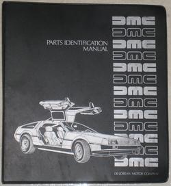 DeLoreanPartsManual-Cover