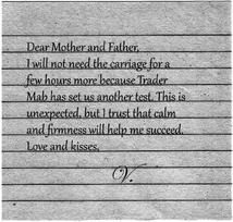 Vashti's note