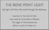 Bone Pint Light sign