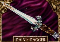 Dain's dagger