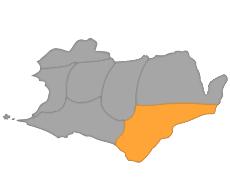 Map of Topaz territory