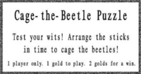 Cage the Beetle