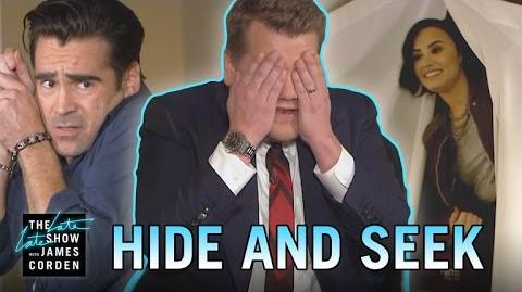 NataliesHouse Hide-and-Seek w Colin Farrell, Wanda Sykes & Demi Lovato