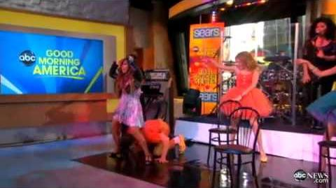 Demi Lovato - Who's That Boy (Live At Good Morning America)
