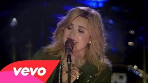 Demi Lovato - Skyscraper (VEVO Presents Live In London)