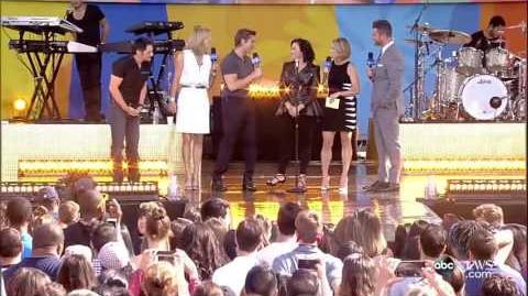 Demi Lovato - For You LIVE Good Morning America 2016 June 17