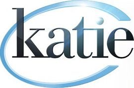 Katie title card