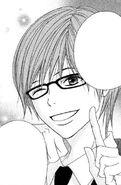 Kiyoshi winking
