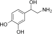 180px-Norepinephrine structure