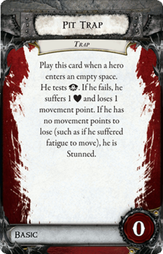 Overlord Card - Pit Trap