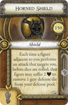 Act II Item - Horned Shield