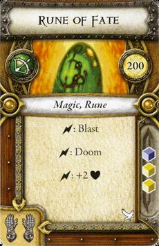 Act II Item - Rune of Fate