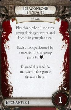 Overlord Card - Dragonbone Pendant