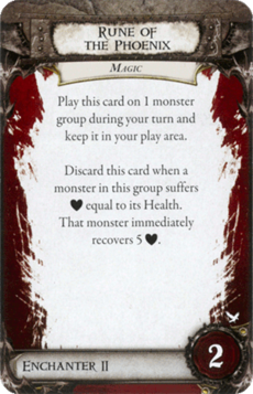 Overlord Card - Rune of the Phoenix
