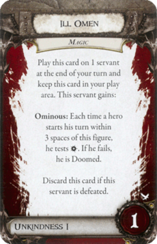 Overlord Card - Ill Omen