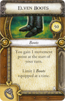 Act I Item - Elven Boots