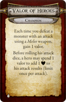 Champion - Valor of Heroes