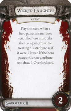 Overlord Card - Wicked Laughter