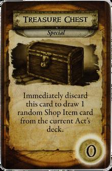 Search Cards - Treasure Chest