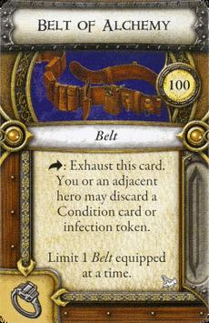 Act I Item - Belt of Alchemy