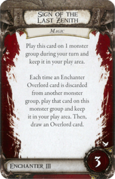 Overlord Card - Sign of the Last Zenith