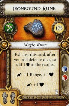 Act I Item - Ironbound Rune