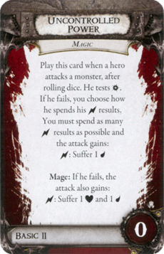 Overlord Card - Uncontrolled Power