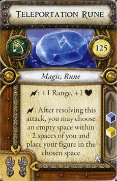 Act I Item - Teleportation Rune
