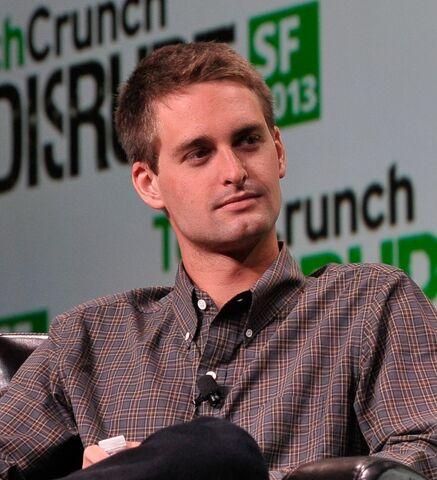 File:Evan Spiegel at TechCrunch 2.jpg