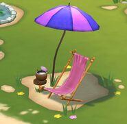 Lying chair Minions Paradise